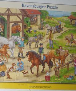 Ravensburger Puzzle O zi la echitatie 40 piese 06 164 8