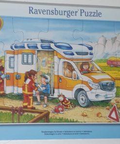 Ravensburger Puzzle ambulanta de serviciu 15 piese 06 170 9