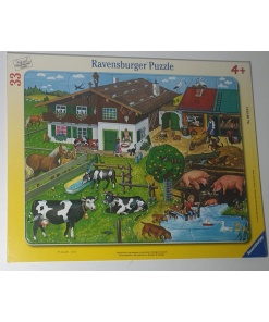 Ravensburger Puzzle Familia animalelor 33 piese 06 618 6