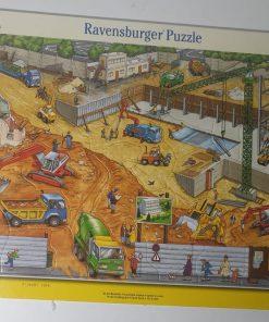 Ravensburger Puzzle Santier de constructie 38 piese 06 678 0