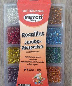 Meyco - Mix perle Rocailles Jumbo 132-25