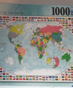 Ravensburger Puzzle Portret mapamond 1000 piese 15 253 7