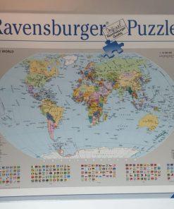 Ravensburger Puzzle Harta politica a lumii 1000 piese 15 652 8