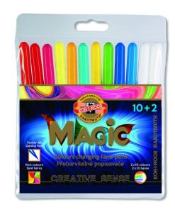 Koh-I-Noor - Magic 1612 culori schimbătoare