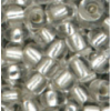 Meyco - Mărgele circulare 2,5 mm 201 Rocailles