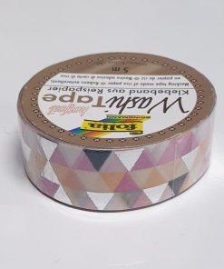 Folia - Washi tape hotfoil 26108 Triunghiuri