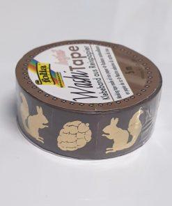 Folia - Washi tape hotfoil 26116 Veverițe