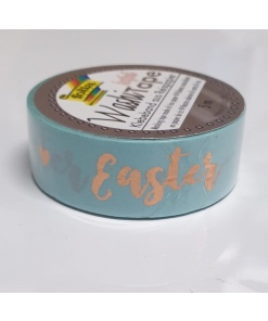 Folia - Washi tape hotfoil 26129 Paște fericit
