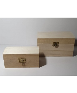 Meyco - Set 2 x lada din lemn natur 34600