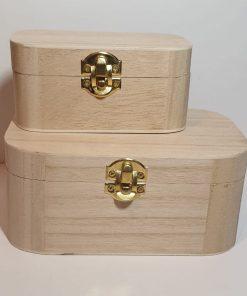 Meyco - Set 2 x cutie din lemn 34602