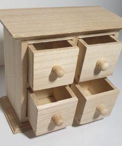 Meyco - Mini comoda din lemn cu sertare 34621