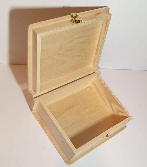 Meyco - Set 2x cutie tip carte din lemn 34631