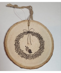 PentArt - Decorațiune lemn coroană 4155