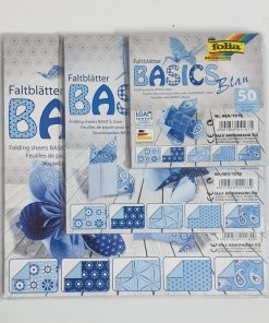 Folia - Hârtie origami Basic 50 coli / set