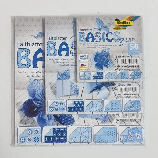 Folia - Hârtie origami Basic 50 coli / set