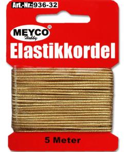 Meyco - Șnur elastic subțire 5 m 936