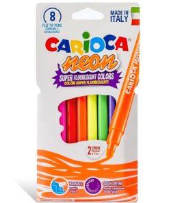 Carioca Carioci set 8 culori Neon