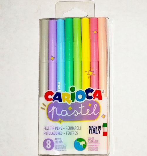 Carioca Carioci set 8 culori Pastel
