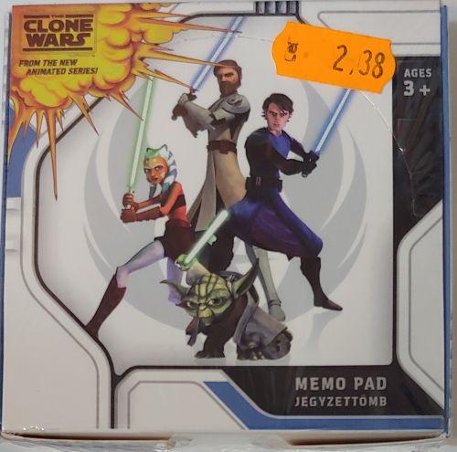 Cub Hârtie cu suport 9x9 cm Star Wars