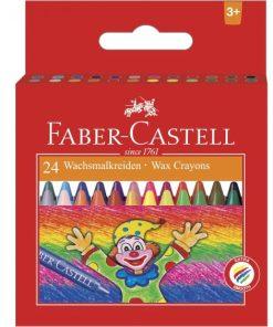 Faber Castell Creioane Cerate set 24 culori