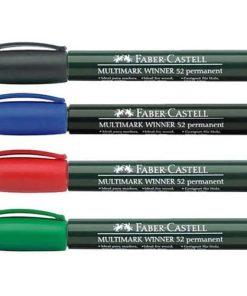Faber Castell Permanent Marker Multimark Winner 52