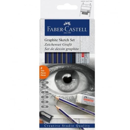 Faber Castell Set pentru Desen în creion 114000