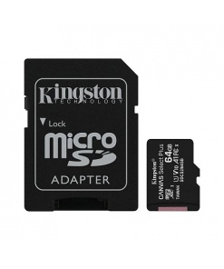 Kingston MicroSD card Canvas Select Plus 64GB detalii