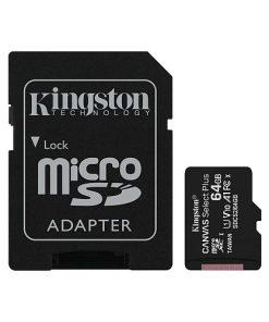Kingston MicroSD card Canvas Select Plus 64GB detalii