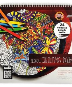 Koh-I-Noor - Carte de colorat Muzicală 9958