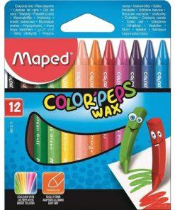 Maped Creioane Cerate set 12 culori