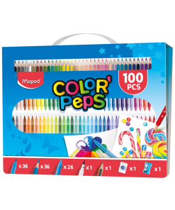 Maped Set culori Color Peps 100 piese