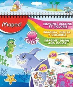 Maped Set de activități copii Ocean