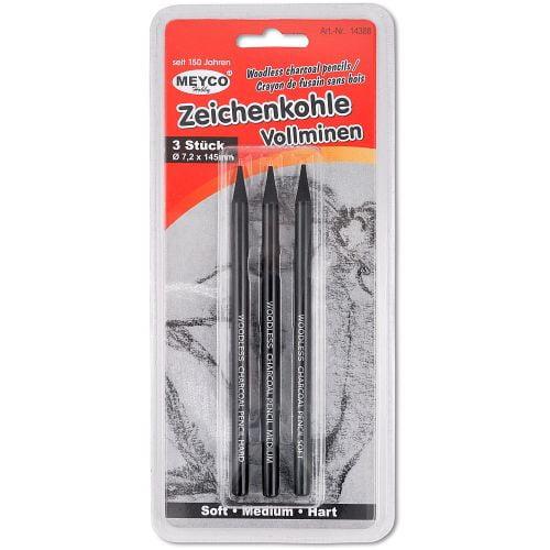 Meyco Creion Cărbune set 3 bucati 14388