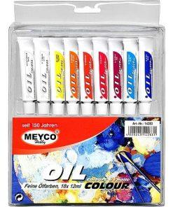Meyco Culori Ulei set 18 culori 14283