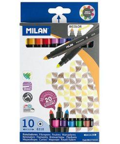 Milan Carioci Bicolore set 10