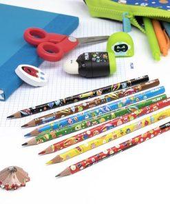 Milan Creioane Colorate Imprimate set 6