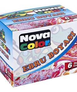 NovaColor Set 6 Culori Ebru NC-238