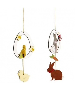Rayher Set Creație Decorațiuni de Paște din lemn