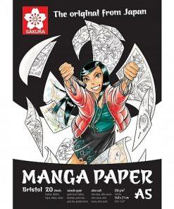 Sakura Bloc desen Manga 250g A5