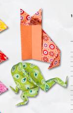 Folia - Hârtie origami Basic 50 coli / set diverse marimi