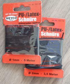Meyco - Șnur negru 937 piele sintetică