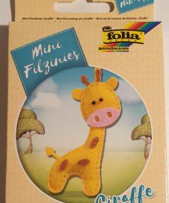 Folia - Mini set cusut 52904 Girafa