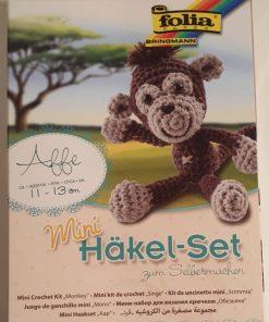 Folia - Mini set crosetat 23903 Maimuta