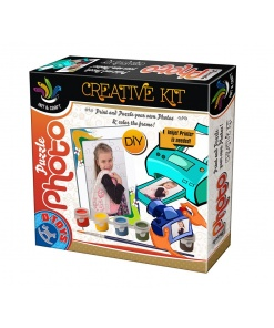D-Toys - Set Creativ Puzzle Foto cu Ramă 68408