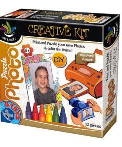D-Toys - Set Creativ Puzzle Foto cu Ramă 68804