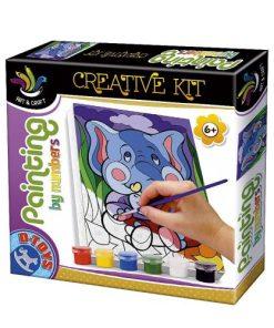 D-Toys - Set pictură după numere 71996-04