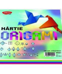 Daco Hârtie Origami 21x21 cm 100coli