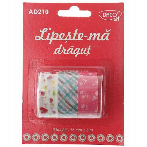 Daco Set 3 benzi adezive Lipește-mă drăguț AD210