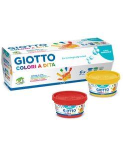 Giotto Set Pictură cu degetele 6x100 ml
