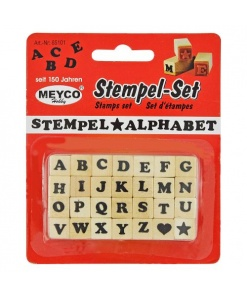 Meyco Mini Ștampile Alfabet 65101